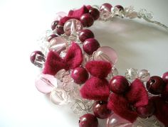 FREE SHIPPING Pink Transparent Sweet Bow Wire by minimalMODE, $39.00