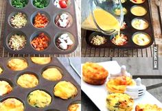 Omelette muffins.. easy to cook, tasty to eat! | News Patrollings
