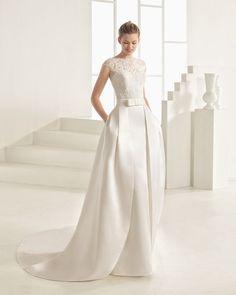 ORIANA vestido de novia Rosa Clará Two 2017