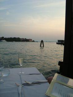 Ristorante Riviera, Dorsoduro 1473, Venezia- had marinated tuna, salmon, sea bream, swordfish in strawberry, blackberry, vanilla, and salt and sugar. Also had ricotta gnocchi with prawn and ginger!