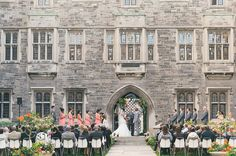 A Romantic, Music-Themed Wedding At The University Of Toronto Canadian Wedding Venues, Wedding Venues Ontario, Toronto Wedding, Hart House, Romantic Music, University Of Toronto, Wedding Videos, Wedding Photoshoot, Music Lovers
