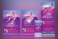 Church Celebration Template Kit on Behance