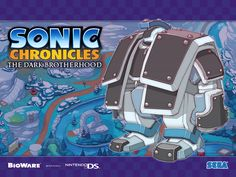Sonic Chronicles The Dark Brotherhood (Wallpaper)