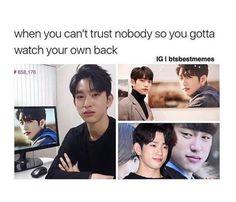 Lol this is so Jinyoung Got7 Jinyoung, Youngjae, Yugyeom, Got7 Meme, Got7 Funny, Kdrama Memes, Funny Kpop Memes, Bts Memes, Hilarious Memes