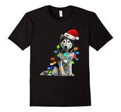 Marry Christmas to all Husky love. If you are looking Christmas gift for your friends and family so here is a Top 10 Siberian huskie Christmas t-shirts. Husky Cross Breeds, Pet Fashion, Christmas Animals, Mens Tops, T Shirt, Clothes, Supreme T Shirt, Outfits, Tee Shirt