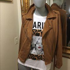 MED soft fringe jacket Light weight yet warm Jackets & Coats