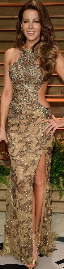 Kate Beckinsale attends 2014 Vanity Fair Oscar after-party