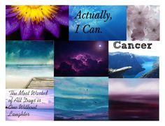 """Cancer Aesthetic"" by meranda-joi ❤ liked on Polyvore featuring art, zodiac, cancer, Horoscope and aesthetic"