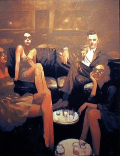 Minneapolis based artist Michael Carson captures the fleeting moments of stylish modern day people. While there is a sense of immediacy in painting them, there is also a timelessness in their a… Portraits, Portrait Art, Figure Painting, Painting & Drawing, Art For Art Sake, Caricatures, Contemporary Paintings, Figurative Art, Traditional Art