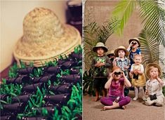 Safari Themed Birthday Party {guest feature} - Celebrations at Home Safari Party, Jungle Party, Party Animals, Animal Party, Birthday Party Celebration, Birthday Party Themes, 3rd Birthday, Kids Party Themes, Party Ideas