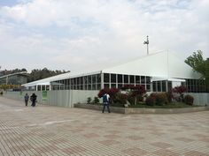 Roof Tent | Aluminum Frame Tent | Event Tent |  PVC Roof & Double Decker Glass Wall