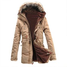 Men KSFS Hot Sale Winter Warm Fleece Parka Dreadnought Trench Jacket Duffle Coat - ArmyGreen Black Khaki M-2XL   Read more at The Bargain Paradise : https://www.nboempire.com/products/men-ksfs-hot-sale-winter-warm-fleece-parka-dreadnought-trench-jacket-duffle-coat-armygreen-black-khaki-m-2xl/  Welcome to our store Winter Warm Fleece Parka Dreadnought Trench Jacket Duffle Coat Product Description: Condition: 100% New and high quality Material: Cotton + Polyester Package in