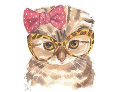 weird cat illustration - Google Search