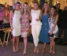Mirella Santos, Fernanda Keulla, Adriane Galisteu, Priscila Borgonovi e Lexa (Foto: Thiago Duran/AgNews)