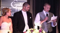 Funny Brother-of-the-Bride Wedding Speech... I guess guys really do only have one thing on their mind...