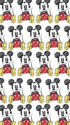 Image de wallpaper, mickey, and mickey mouse