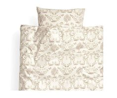 Toddler Bedding, Twin Duvet Quilt Cover 2pc Set Fawn Rabbit Squirrel Print 100% Cotton, Girly Bedding, http://www.amazon.com/dp/B00SS0EK7I/ref=cm_sw_r_pi_awdm_mqXovb10CHSX4