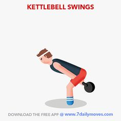 Burn fat, build muscle and boost endurance with this single exercise! Download the 7 Daily Moves app for effective workouts and see your body change! www.7dailymoves.com   #kettlebells #plyometrics #homeworkouts #Newmomworkouts #fitmomworkouts #bodyweight #HIIT #medicineball #motivation #consistency #cardio #strength #7dailymoves