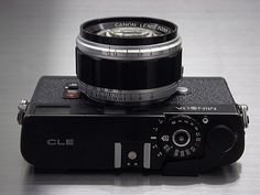 Minolta CLE with Canon LTM 50mm F/1.2