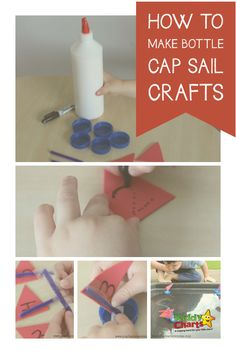 How to make bottle cap sail boats - so simple to do, why not pop over and check them out now? Activities For Kids, Activity Ideas, Foam Sheets, Sail Boats, Dramatic Play, Diy For Kids, Sailing, Crafts For Kids, Cap
