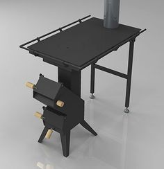 Productos - estufa cohete de múltiples funciones