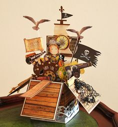 Pirate Pop Up Box Card | Flickr - Photo Sharing!
