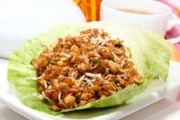 Oh ma goodnezz, I cannot tell you how excited this makes me! I LOVE the p.f. chang's lettuce wraps!!!
