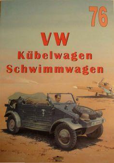 Livre - Revue VW Kubelwagen Schwimmwagen - Wydawnictwo Militaria 076
