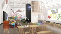 I. CAN'T. WAIT! Tesla Coils, Slides and a Chemistry Bar Make up the Science Museum's New Wonderlab
