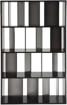 Sundial Bookcase by Kartell. A bookcase with shelving featuring a series of satin-finished or transparent dividers set at slightly different angles like the shadows of a sundial. Contemporary Bookcase, Modern Bookcase, Bookcase Shelves, Display Shelves, Contemporary Furniture, Bookcases, White Bookshelves, Kallax Shelf, Storage Shelving