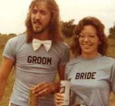 these two are badassssssss.....i love that the bride has the tall boy