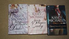 Lot of 3 Kasey Michaels books / kasey michaels novels by TheKindLady on Etsy