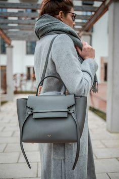 Celine Belt Bag in grey More inspiration youll find here: Belt Bag Outfit Bag Belt celine Find Grey inspiration Youll Chloe Bag, Luxury Bags, Luxury Handbags, Lv Handbags, Celine Belt Bag Mini, Celine Tote Bag, Ceinture Louis Vuitton, Bag Sewing, Balenciaga