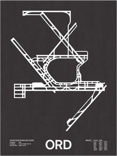 Nomo Design Shop — ORD: Chicago O'Hard International Screenprint