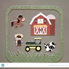 Silhouette America Blog | DIY Magnetic Farm Playset