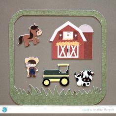 Silhouette America Blog | DIY Magnetic Farm Playset