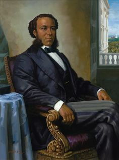 Joseph Rainey (June 21, 1832 - August 1, 1887) was the first African American to serve in the US House of Representatives as well as the first elected to Congress, being elected to the first of four terms in 1870 from South Carolina. US Senator Hiram Revels had been appointed by the Louisiana State Senate earlier that year, not elected by popular vote. Rainey was a Charleston businessman and after serving in Congress was appointed a US Treasury agent. #TodayInBlackHistory