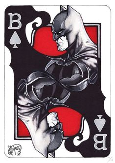 Batman of Spades - Limited Edition - Signed Giclée - Jennifer Giner -. - Batman of Spades – Limited Edition – Giclée signed – Jennifer Giner – W. Batman of - Batman Painting, Batman Drawing, Batman Artwork, Batman Wallpaper, Batman Tattoo, Comic Tattoo, Batman Und Catwoman, Im Batman, Batman Stuff