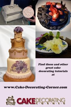 Learn how to make these cakes and much more.