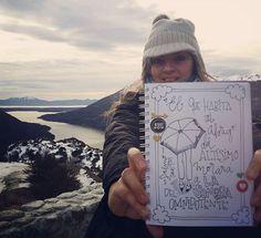 Día #7 - Salmo 91:1 -  El todo poderoso, el Omnipotente, es mi Papá celestial 😁- Lago Escondido -Tierra del Fuego, Ushuaia, Argentina - ❄⛄🌏🌍⛅🐧🐧🐧🗻 -  #LetteringBíblicoSeptiembre #ConfiandoEnSusPromesas #yopintomibiblia #letteringconpropósito #handlettering #typography #handletter #lettering #LetteringBeginner #handmade #watercolour #caligritype #journaling #BibleJournaling #brushlettering #biblejournalingenespañol