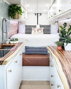 vintage caravans 324048135689829746 - Check out these gorgeous Camper van conve. - vintage caravans 324048135689829746 – Check out these gorgeous Camper van conversions to inspire your next adventure Source by divineontheroad Caravan Vintage, Vintage Caravans, Vintage Campers, Vintage Trailers, Vintage Rv, Vintage Travel, Vintage Caravan Interiors, Vintage Airstream, Motorhome Conversions