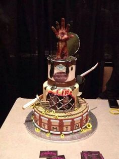The Walking Dead Cake: Terminus