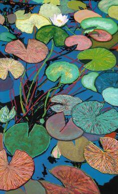Sparkling Pond by Allan P Friedlander <3