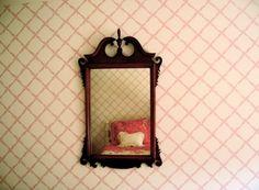 bed, bedroom, deco, design, interior design, mirror - inspiring picture on Favim.com