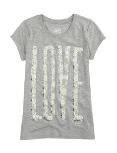 Love Graphic Tee | Justice
