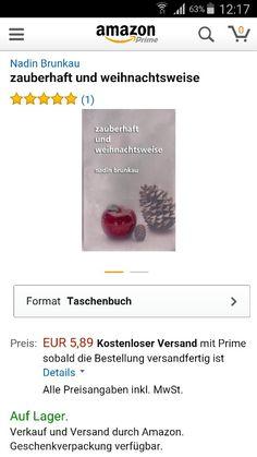 Es ist geschafft.  Und die Autorin auch  jetzt als Taschenbuch und ebook bei Amazon erhältlich. Ich freue mich auf eure Meinung.