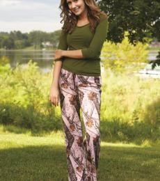 Mossy Oak Pink Pants