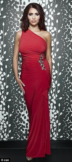 Amy Childs red dress.