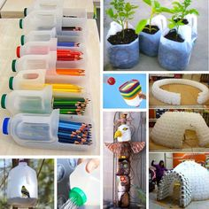 Great reuse recycle idea