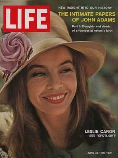 Leslie Caron - Life Magazine [United States] (30 June 1961)
